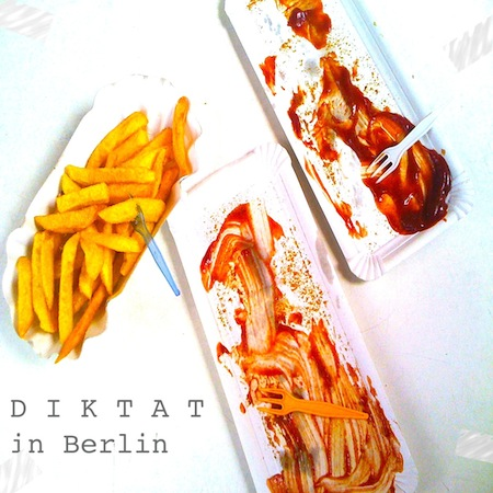 Diktat in Berlin - cover