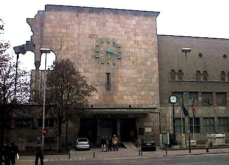Skopje clock