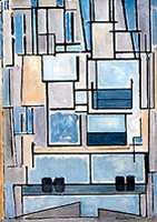 Mondriaan Composition VI