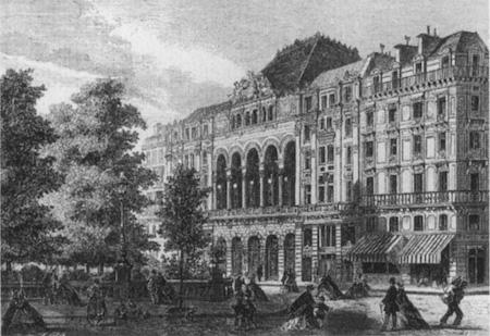 La Gaîté Lyrique, rue Papin 1862