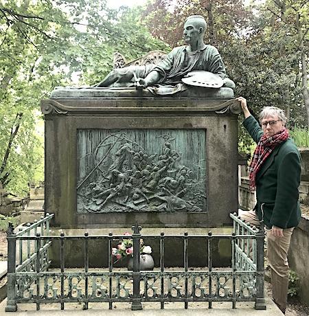 Géricault's grave