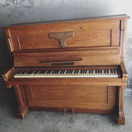 my mother's piano