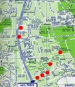 map Les Mureaux