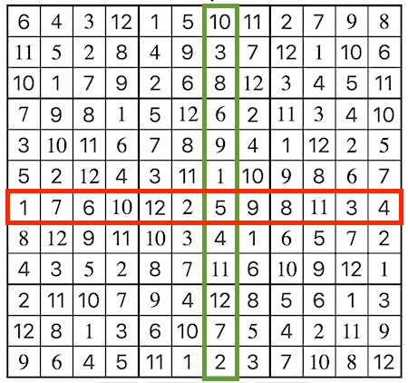 12 x 12 sudoku